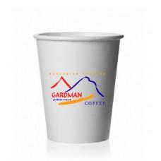 Бумажный стаканчик для капучино и чая 250мл с логотипом Gardman: фото - Gardman™