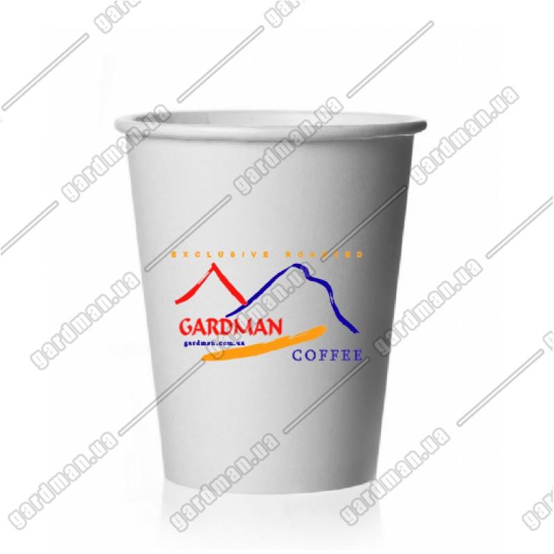Бумажный стаканчик для капучино и чая 340мл с логотипом Gardman: фото - Gardman™